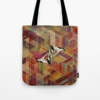 pin up Tote Bags featuring Pin Up by Spyck
