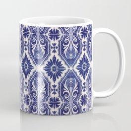Portuguese Tiles Azulejos Blue White Pattern Coffee Mug