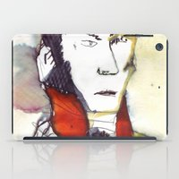 lawyer iPad Cases featuring the lawyer man by seb mcnulty