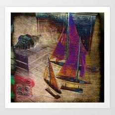 Nautica III Art Print