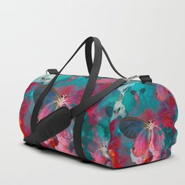 """""""Spring Butterfly love"""" Duffle Bag"""