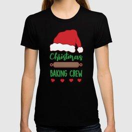 Cute Christmas Baking Crew T-shirt