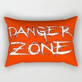 Danger Zone (Chris Danger) Rectangular Pillow