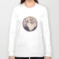 enerjax Long Sleeve T-shirts featuring Pluto - I love myself by enerjax