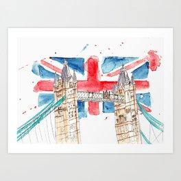 London Bridge Art Print