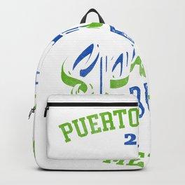 Puerto Vallarta Mexico 2019 Mexico Gift Design Idea Backpack