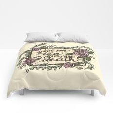 Tea or Death Comforters