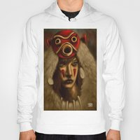 mononoke Hoodies featuring Mononoke by Debono Art