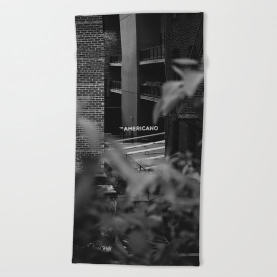Americano Beach Towel