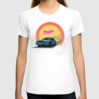 drive T-shirts featuring Drive by Villaraco