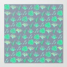 Sleep Your Leafy Greens Canvas Print