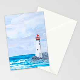 Rounding the Lighthouse Stationery Cards