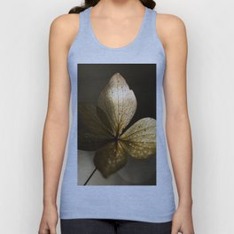 Autumn Scene - Dry Petals with Golden Sunset Light #decor #society6 #buyart Unisex Tank Top