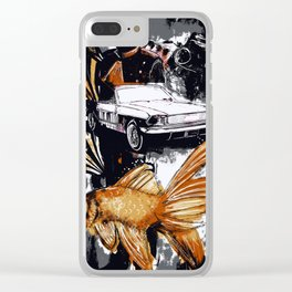 Immortal Still Clear iPhone Case