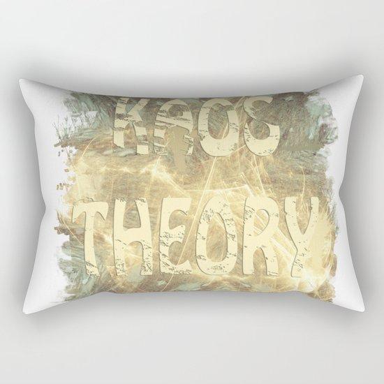 Kaos theory on sandy fractal Rectangular Pillow