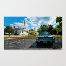 Colored vette Canvas Print