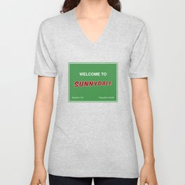 Welcome to Sunnydale Unisex V-Neck