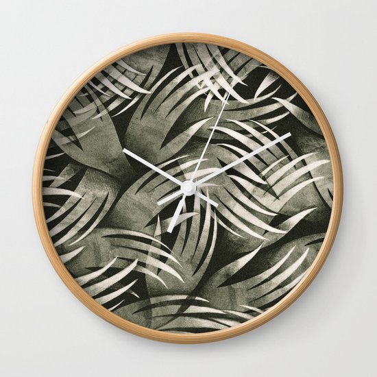 In The Icy Air of Night - Silver Screen Edition Wall Clock
