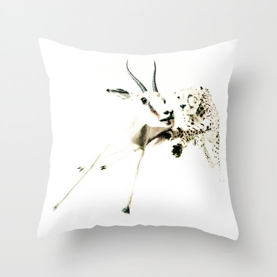 animal#02 Throw Pillow