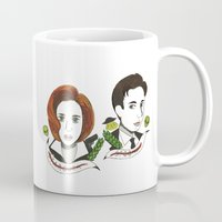mulder Mugs featuring Scully and Mulder  by  Lady Grey