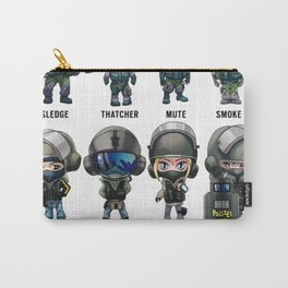 """Rainbow Six: Siege """"SKINS"""" Carry-All Pouch"""