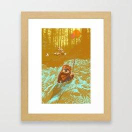 """Wicket"" by Showdeer Framed Art Print"