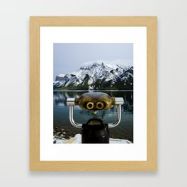 I Spy Framed Art Print