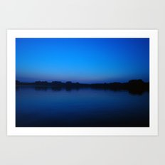 2006 - Blues After Sunset (High Res) Art Print