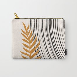 Botanical Mid Century Scandanavian  Carry-All Pouch