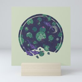 Amongst the Lilypads Mini Art Print