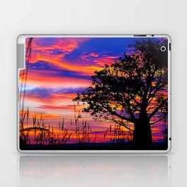 Pinks n Purples thru Boab Tree Laptop & iPad Skin