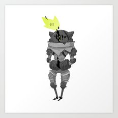Trapped. Art Print