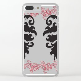 Angel Wings to Fly Clear iPhone Case