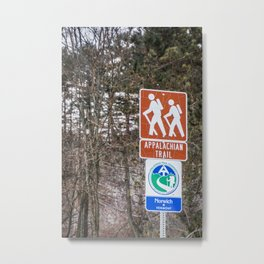 Walking the Appalachian Trail Metal Print