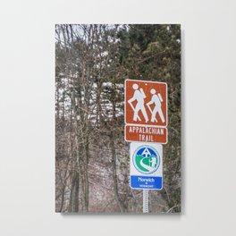 Walking the Appalachian Trail Metal Print