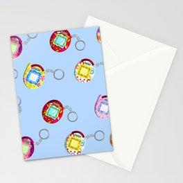 Tamagotchi Connection V2-Blue Stationery Cards