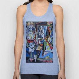 Pablo Picasso - Les Femmes d'Alger (Women of Algiers) 1955 Artwork Unisex Tank Top