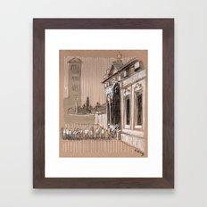 Epier Pierre Rome Piazza dei Cavalieri di Malta Framed Art Print