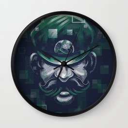 Depixelization L Wall Clock