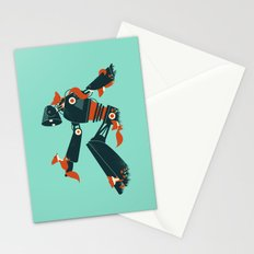 Foxes & The Robot Stationery Cards