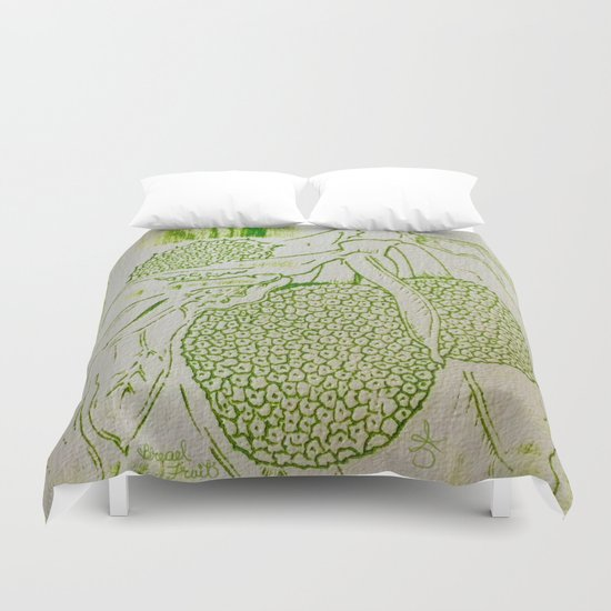 Breadfruit Duvet Cover