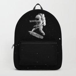 Kickflip in space Backpack