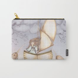 Spirit of the Narwhal Carry-All Pouch