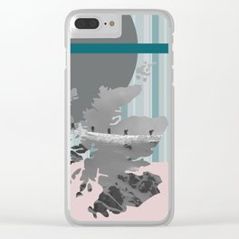Scotland, the land of the mountains multi-coloured Clear iPhone Case