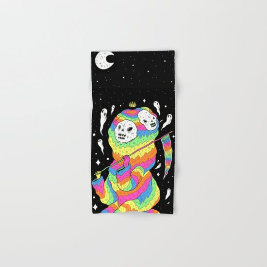 Slimey Space Reaper Hand & Bath Towel