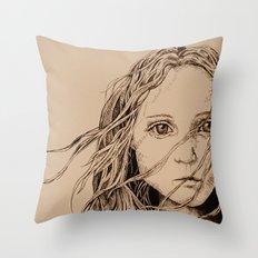 The Colour of Despair  Throw Pillow