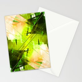 Toxic - Geometric Abstract Art Stationery Cards