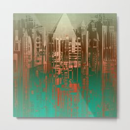 Over the Green / Density Series Metal Print