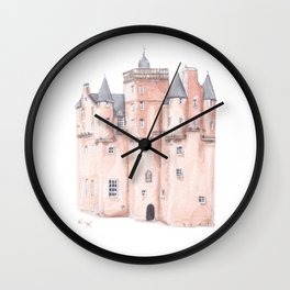 Craigievar Castle, Scotland Wall Clock