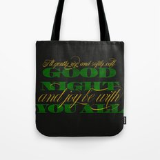 The Parting Glass Tote Bag